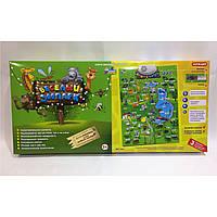Детский развивающий плакат веселый зоопарк