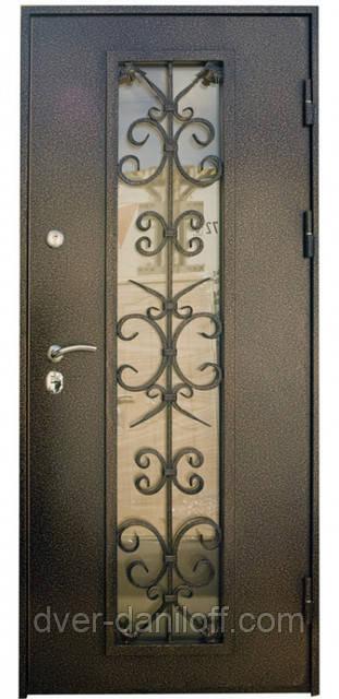 Наружные входные двери порошковая покраска, доставка Киев