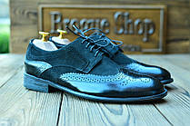 Туфли мужские кожаные  броги Florentino, made in Italy.