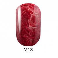 Гель-лак для ногтей 6 мл Naomi Gel Polish Metallic Collection M13