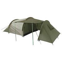 Палатка трёхместная с тамбуром MilTec STAURAUM Olive 14226000