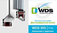 """Окна металлопластиковые """"WDS - 500"""" (ВДС - 500)."""