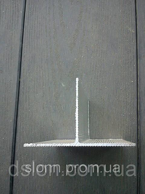 Тавр алюминиевый   100*50*2 мм.