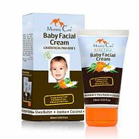 Увлажняющий детский крем для лица с маслами ши и жожоба, без запаха Mommy Care 60 мл