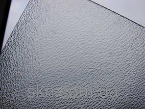 Полупрозрачный монолитный поликарбонат ШАГРЕНЬ 2мм 2,05*3,05м, фото 2