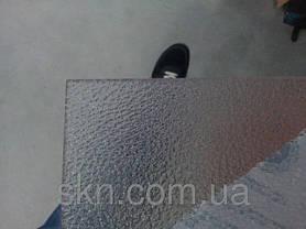 Полупрозрачный монолитный поликарбонат ШАГРЕНЬ 2мм 2,05*3,05м, фото 3