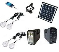 Автономная система освещения с солнечной батареей GD-lite, GD-8038