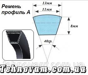 Ремень клиновый A-1000