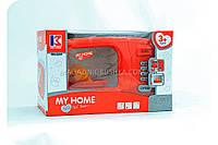 Детская микроволновая печь на батарейках «My Home» (свет, звук) 3214