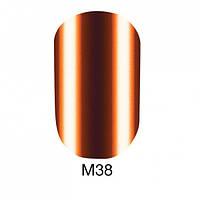 Гель-лак для ногтей 6 мл Naomi Gel Polish Metallic Collection M38