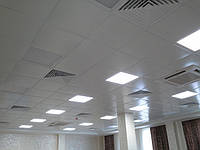 Потолки металические  кассетные   600*600