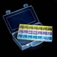 Тара в пластиковом чемоданчике, 21 секция, 2 в 1 , фото 1