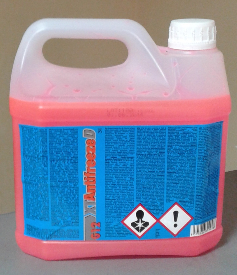 Антифриз-концентрат красный XT Antifreeze D 3L G12/G12+
