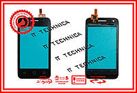 Тачскрин Alcatel 4009D One Touch Pixi 3 Черный