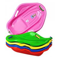 Детские санки пластиковые Ракушка Мушля Marmat