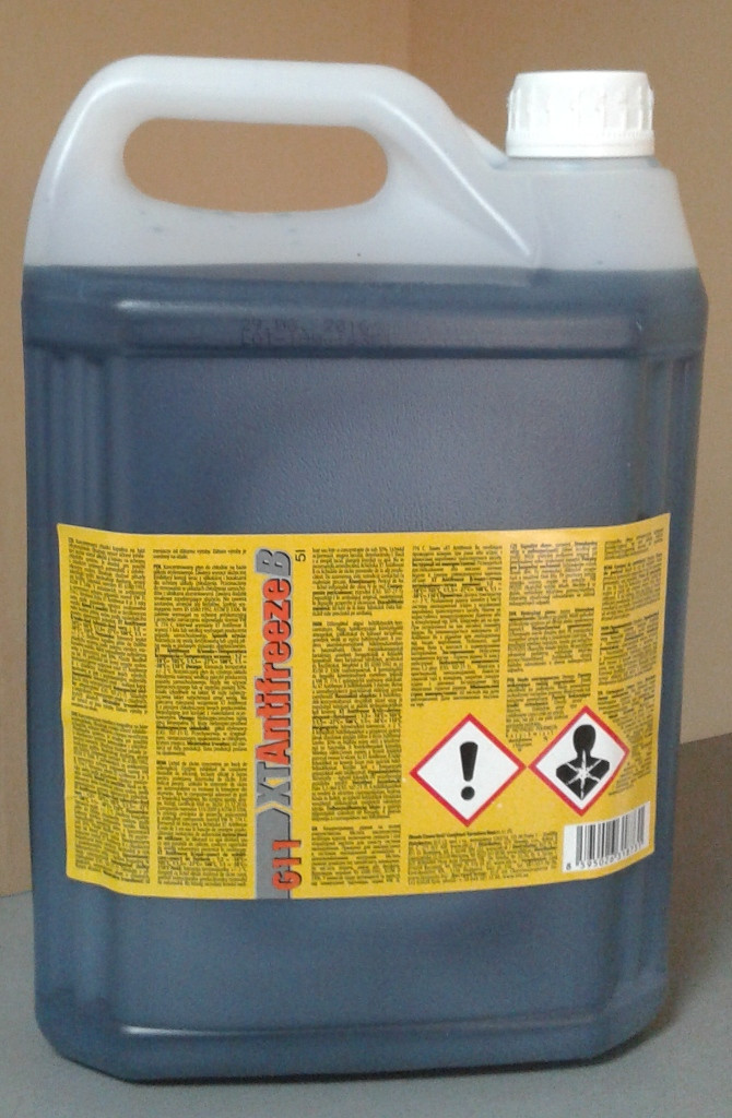 Антифриз-концентрат синий XT Antifreeze B 5L G11