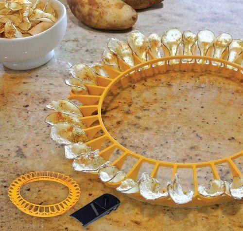 """Устройство для резки и приготовления чипсов в домашних условиях """"chip- tastic"""""""