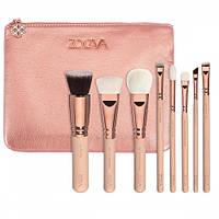 Набор кистей Zoeva Rose Golden Luxury Set Vol. 2, фото 1