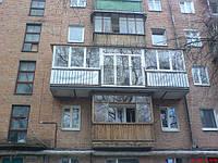 Расширение балкона.