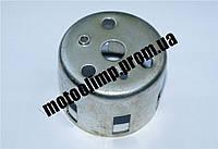 Шкив ручного стартера (стакан ручного стартера)  на мотоблок 168F, генератор 2-3,5 кВт, помпу