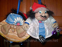 """Кукла на удачу"" - горячий дед мороз"