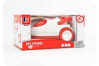 Детский пылесос на батарейках «My Home» (свет, звук) 3213