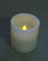 Свеча декоративная LED-подсветкой с парафина 8 см