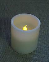 Свеча декоративная LED-подсветкой с парафина 8 см, фото 1