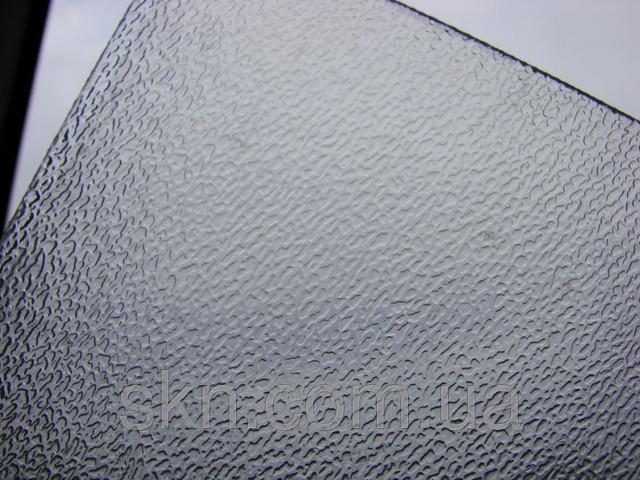 Полупрозрачный монолитный поликарбонат ШАГРЕНЬ 2мм 2,05*3,05м