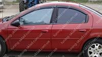 Ветровики окон Додж Неон 2 (дефлекторы боковых окон Dodge Neon 2)