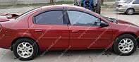 Ветровики окон Крайслер Неон 2 (дефлекторы боковых окон Chrysler Neon 2)