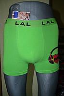 Трусы LAL  95% cotton зеленые music