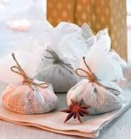 Саше для ванны с мятой Мятная конфетка