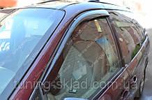 Вітровики вікон Додж Караван 1995-2007 (дефлектори бокових вікон Dodge Caravan)