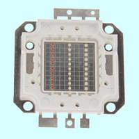 Светодиодная матрица LED 30Вт 450-460nm, синий