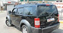 Вітровики вікон Додж Нітро (дефлектори бокових вікон Dodge Nitro)
