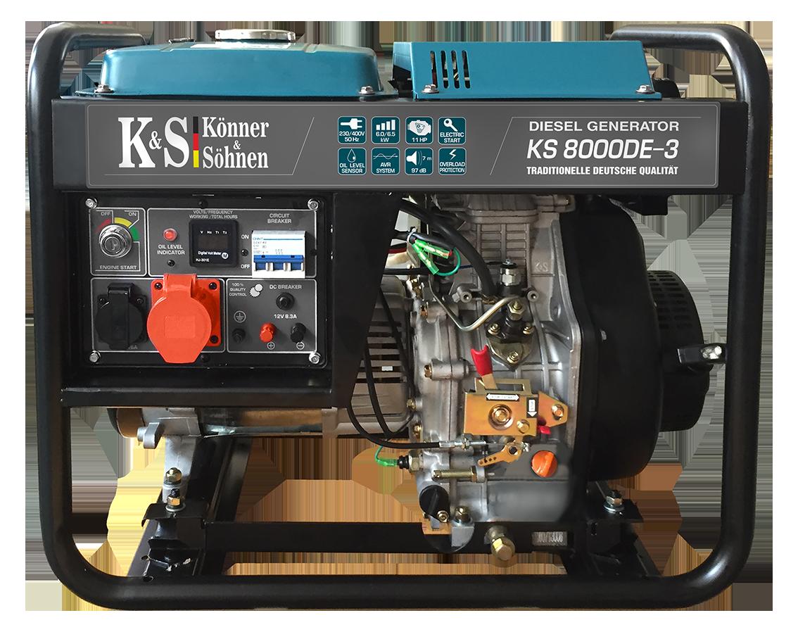 K&S 8000DE-3