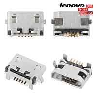 Коннектор зарядки для Lenovo A7000, оригинал
