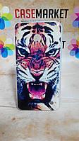 Чехол силиконовый бампер для Nokia Lumia 630 635 с рисунком Тигр, фото 1