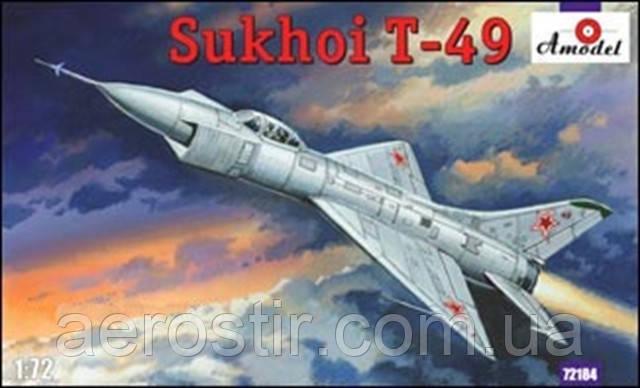 Самолет Т-49 1/72 AMODEL 72184