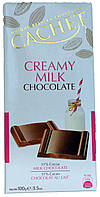 Шоколад молочный CACHET Creamy Milk Chocolate 100г.