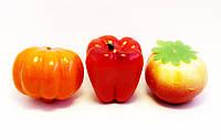 Муляжи овощей-пенопласт-12 шт