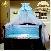 Комплект детского постельного белья для новорожденных Весна