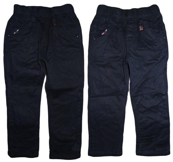 Утеплённые котоновые брюки для мальчика Seagull, размеры 98(2шт),104(2шт), арт. DS606