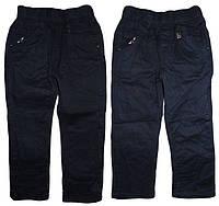 Утеплённые котоновые брюки для мальчика Seagull, размеры 98(2шт),104(2шт), арт. DS606, фото 1