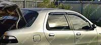 Ветровики окон Фиат Альбеа (дефлекторы боковых окон Fiat Albea)