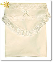 Уголок в одеяло (кружево)