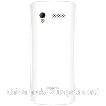 Телефон Bravis MAJOR 2.8'' duos White , фото 2