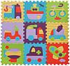 Дитячий килимок-пазл Baby Great Швидкий транспорт