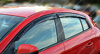 Ветровики окон Фиат Браво хэтчбек (дефлекторы боковых окон Fiat Bravo)